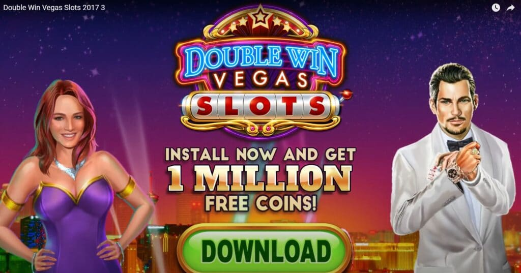 Double Win Vegas mobile game, created by Anino